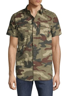 Buffalo Jeans Camouflage-Print Button-Down Shirt