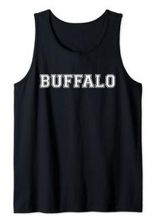 Buffalo Jeans College University style Buffalo New York Sport Gift Tank Top