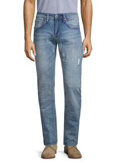 Buffalo Jeans Distressed Straight Jeans