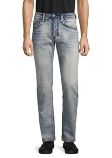 Buffalo Jeans Evan Bleached Slim Stretch Jeans
