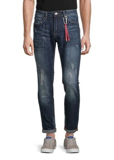 Buffalo Jeans James-X Distressed Slim-Fit Jeans