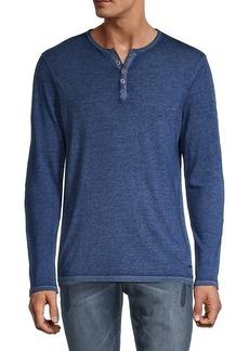 Buffalo Jeans Kaduk Henley Long-Sleeve Shirt
