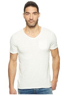 Buffalo Jeans Kasim Short Sleeve V-Neck Slub Jersey T-Shirt