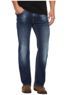 Buffalo Jeans King-X Slim Bootcut Leg Jeans in Authentic and Worn