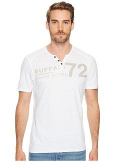 Buffalo Jeans Narwayne Slit Neck Henley Shirt