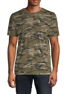 Buffalo Jeans Nordil Camouflage Crewneck Tee