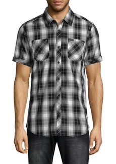 Buffalo Jeans Plaid Short-Sleeve Shirt