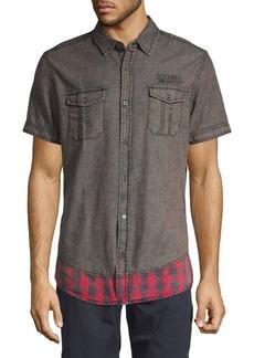 Buffalo Jeans Printed Short-Sleeve Shirt