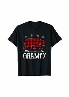 Buffalo Jeans Red Plaid Grampy Bear Matching Buffalo Pajama T-Shirt