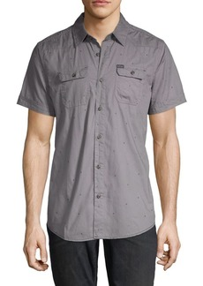 Buffalo Jeans Sabooro Graphic Button-Down Shirt