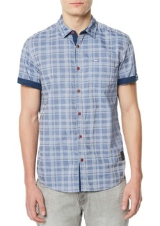 Buffalo Jeans Sazuc Checkered Cotton Button-Down Shirt