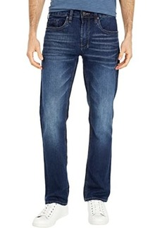 Buffalo Jeans Six Straight Jean in Whiskered and Sanded