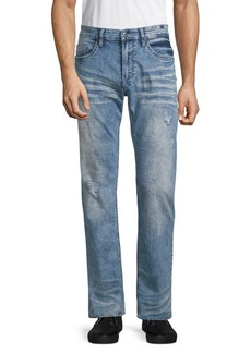 Buffalo Jeans Six X Basic Faded Straight Jeans
