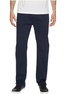 Buffalo Jeans Six-X Straight Fit Jeans Torpedo Fabric in Deep Navy