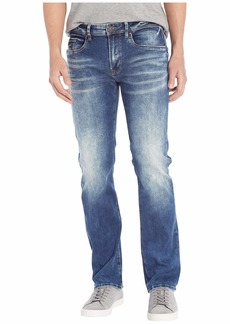 Buffalo Jeans Six X Straight Leg in Veined/Sanded