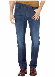 Buffalo Jeans Six-X Straight Leg Jeans in Contrast Whiskered