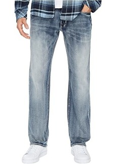 Buffalo Jeans Six-X Straight Leg Jeans in Sanded and Faded
