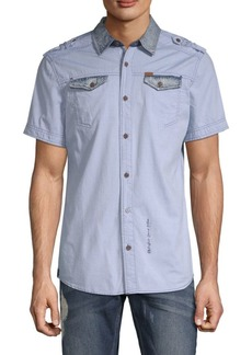 Buffalo Jeans Sorim Cotton Button-Down Shirt