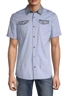 Buffalo Jeans Sorim Cotton Button-Down Shirt