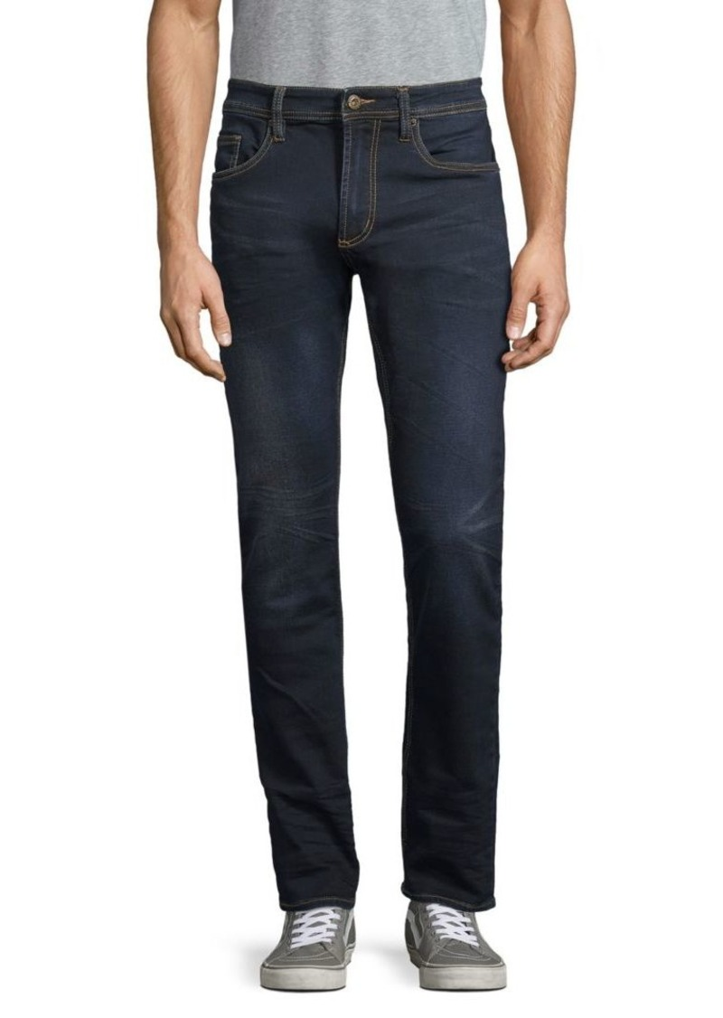 Buffalo Jeans Whiskered Skinny Jeans