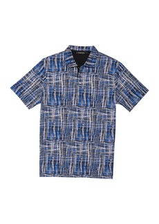 Bugatchi Abstract Knit Shirt