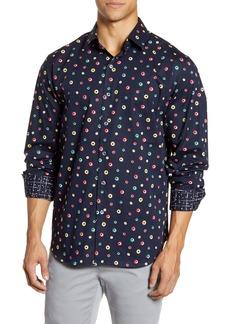 Bugatchi Classic Fit Button-Up Shirt