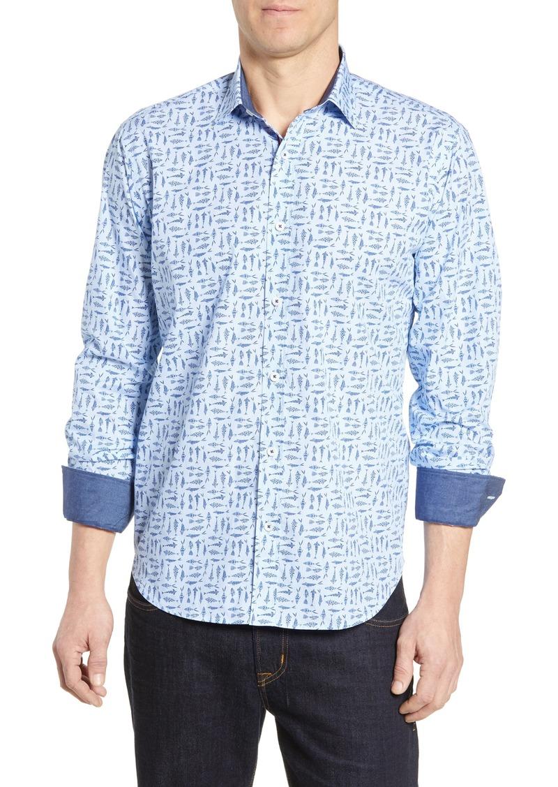 Bugatchi Classic Fit Cotton Shirt