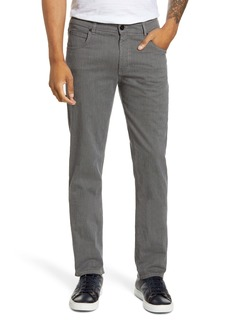 Bugatchi Classic Slim Straight Stretch Cotton Pants