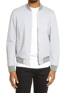 Bugatchi Cotton Blend Bomber Jacket
