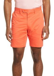 Bugatchi Flat Front Chino Shorts