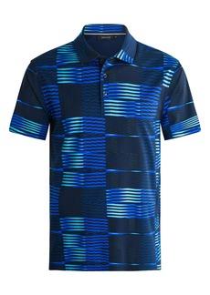 Bugatchi Geometric Cotton Polo Shirt