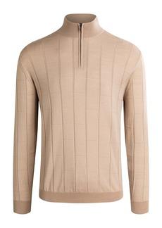 Bugatchi Half Zip Sweater