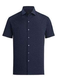 Bugatchi Long Sleeve Button-Down Sport Shirt