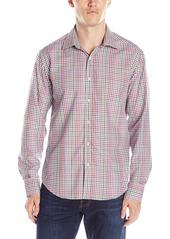 Bugatchi Men's Multi Basketweave Button Down Shirt
