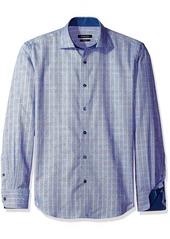Bugatchi Men's Tonal Circle Button Down Shirt