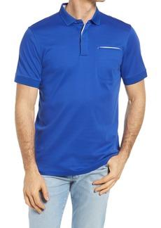 Bugatchi Pima Cotton Short Sleeve Polo Shirt