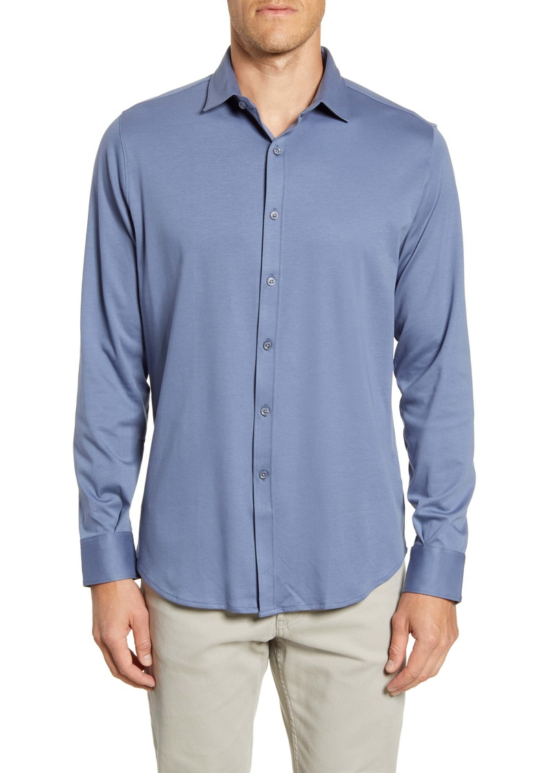 Bugatchi Regular Fit Button-Up Shirt