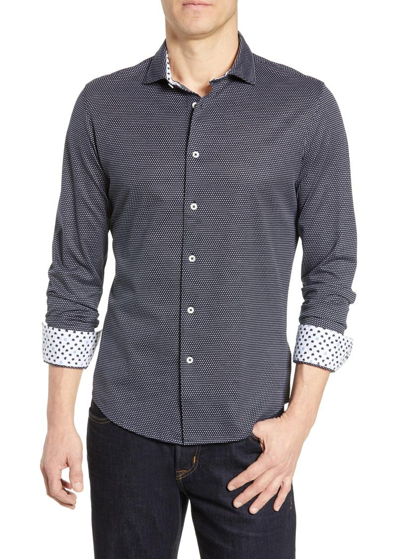 Bugatchi Regular Fit Cotton Shirt