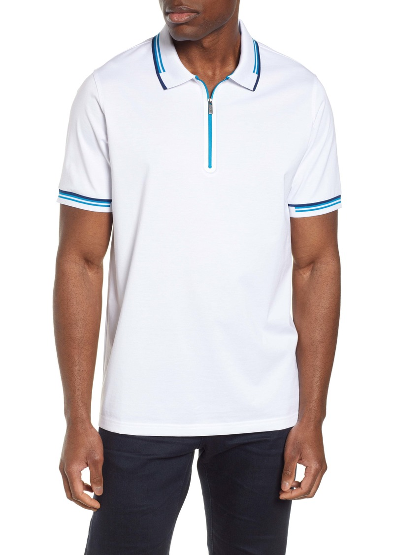 Bugatchi Regular Fit Polo