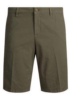 Bugatchi Regular Fit Stretch Cotton Bermuda Shorts