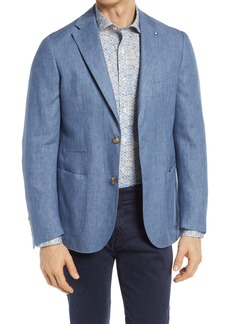 Bugatchi Solid Linen Sport Coat