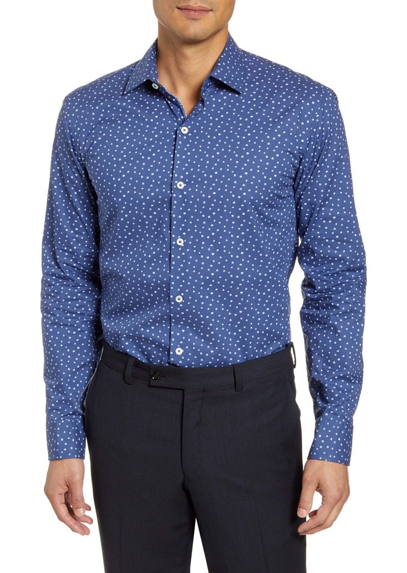 Bugatchi Trim Fit Dress Shirt