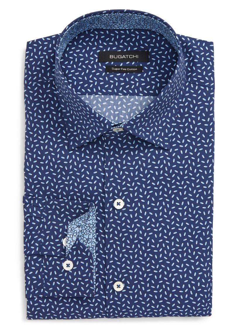 Bugatchi Trim Fit Dress Shirt