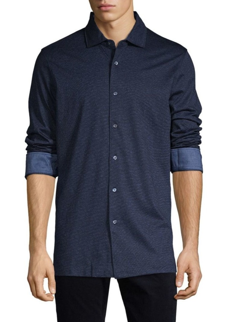 Bugatchi Long-Sleeve Shirt