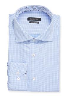 Bugatchi Men's Check Print Dress Shirt
