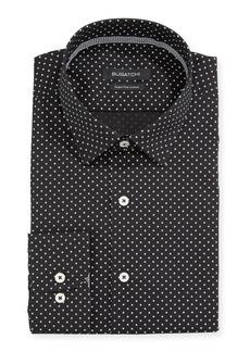 Bugatchi Men's Dot-Print Modern Fit Dress Shirt