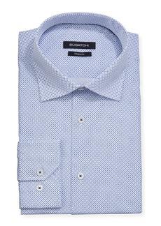 Bugatchi Men's Dot-Print Modern-Fit Long-Sleeve Dress Shirt