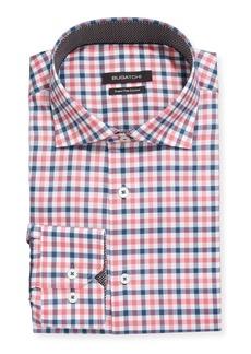 Bugatchi Men's Plaid-Print Dress Shirt