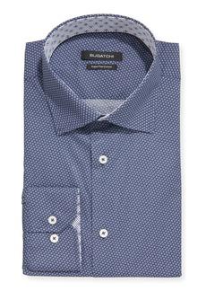 Bugatchi Men's Printed Modern Fit Dress Shirt