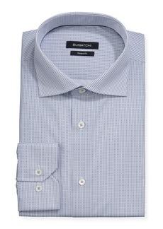 Bugatchi Men's Printed Long-Sleeve Dress Shirt
